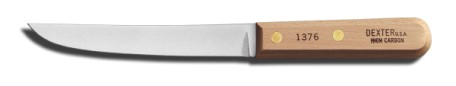 "1376 Dexter-Russell Boning Knife 6"" wide boning knife EACH"