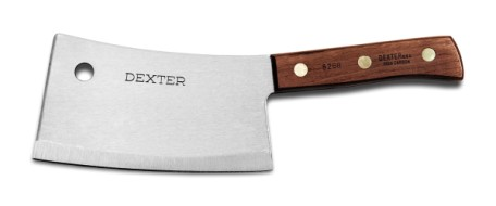 "S5287 Dexter-Russell Meat Cleavers 7"" stainless heavy duty cleaver EACH"