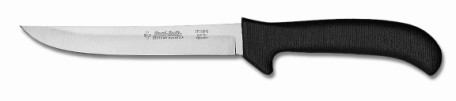 "EP156HGB Sani-Safe Boning Knife 6"" hollow ground boning knife, black handle EACH"