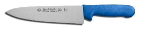 "S145-8C-PCP Sani-Safe Cook's Knife 8"" cook�s knife, blue handle EACH"