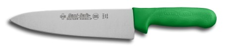 "S145-8G-PCP Sani-Safe Cook's Knife 8"" cook�s knife, green handle EACH"