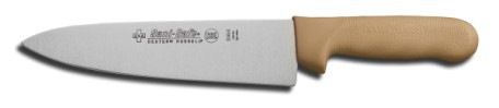 "S145-8T-PCP Sani-Safe Cook's Knife 8"" cook�s knife, tan handle EACH"