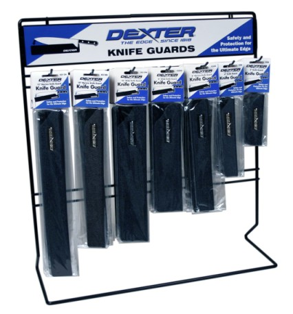 2008CT 2008CT counter display for knife guards Dexter Russell Professional Cutlery 20022