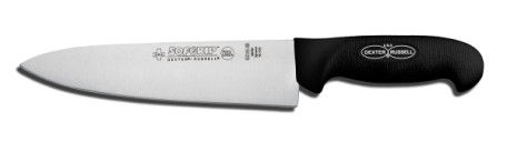 "SG145-8B-PCP Sofgrip Cook's Knife 8"" cook's knife, black handle EACH"