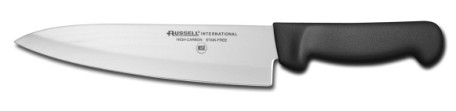 "P94801B Russell International Cook's Knife 8"" cook's knife, black handle EACH"