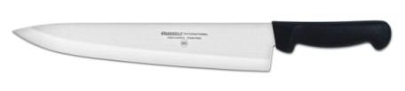 "P94806B Russell International Cook's Knife 12"" cook's knife, black handle EACH"