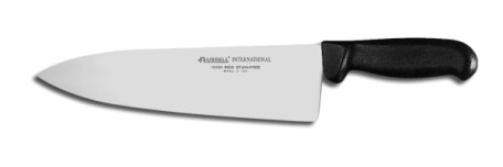 "P94831B Russell International Cook's Knife 10"" wide cook's knife, black handle EACH"