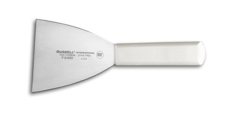 "P94850 Russell International Scrapers Servers 4"" griddle scraper EACH"
